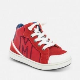 Mayoral 42658-31 Buty sportowe logo kolor Czerwony