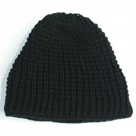 Doll Czapka dzianinowa 1629750174-1010 kolor czarny
