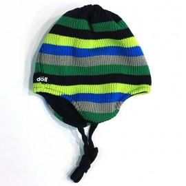 Doll Czapka dzianinowa 1623715121-5996 kolor popiel/zielony