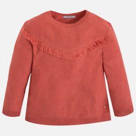 Mayoral 4326-69 Sweter trykot kolor Cegła