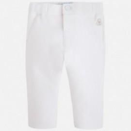 Mayoral 1509-85 Spodnie długie kolor Biały