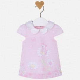 Mayoral 1809-3 Sukienka z nadrukiem kolor Róż.baby