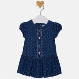 Mayoral 1867-5 Sukienka dziensowa z nadrukie kolor Jeans
