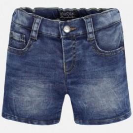 Mayoral 1265-76 Bermudy jeans kolor Ciemny
