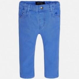 Mayoral 1533-21 Spodnie serża elastan kolor Rajski