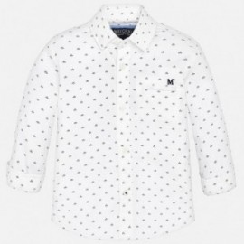 Mayoral 1171-19 Koszula d/r fantazja kolor Biały