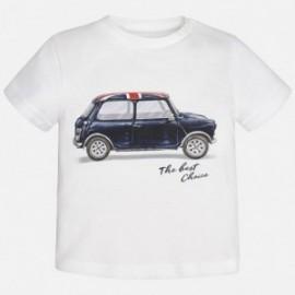 Mayoral 1029-30 Koszulka k/r samochód kolor Biały