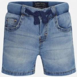 Mayoral 203-90 Bermudy jeans basic kolor Basic