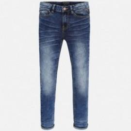 Mayoral 6513-50 Spodnie jeans super slim kolor Ciemny