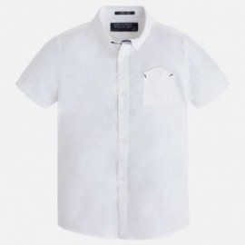 Mayoral 3139-85 Koszula krót. ręk. detale kolor Biały