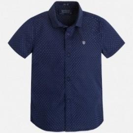 Mayoral 3141-51 Koszula krót.ręk. kolor Nieb.ciem