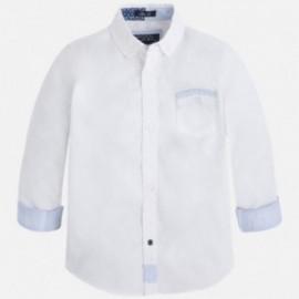 Mayoral 3163-85 Koszula d/r fantazja kolor Biały