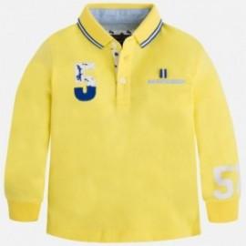 Mayoral 3135-70 Koszulka polo d.ręk.aplikacja kolor Bananowy