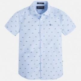 Mayoral 3141-52 Koszula krót.ręk. kolor Błękitny