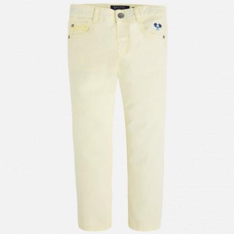 Mayoral 3509-28 Spodnie serża elastan kolor Pomelo