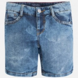 Mayoral 3217-5 Bermudy dzins kolor Jeans