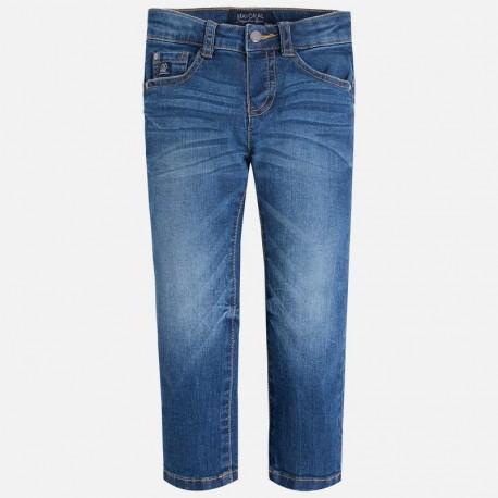 Mayoral 46-68 Spodnie jeans regular fit kolor Ciemny