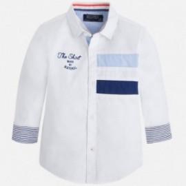 Mayoral 3167-85 Koszula dł.ręk. kolor Biały