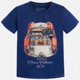 Mayoral 3011-56 Koszulka k/r samochód kolor Kosmos