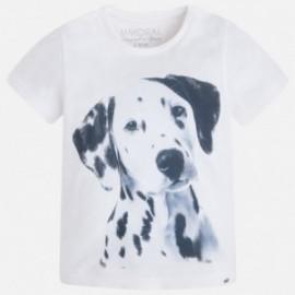 Mayoral 3015-48 Koszulka k/r pies kolor Biały