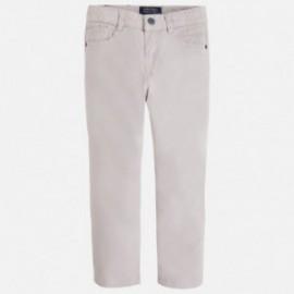 Mayoral 3515-35 Spodnie slim fit kolor Kamień