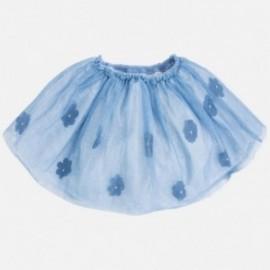 Mayoral 3905-77 Spódnica tiul kwiaty kolor Błękitny