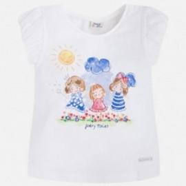 Mayoral 3061-39 Koszulka k/r dziewczynka kolor Niebieski