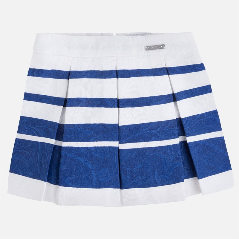 Mayoral 3903-45 Spódnica żakard paski kolor Niebieski