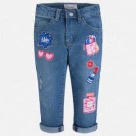 Mayoral 3529-62 Rybaczki jeans kolor Ciemny