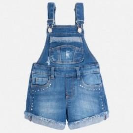 Mayoral 3625-5 Ogrodniczki krótkie jeans ćwi kolor Jeans