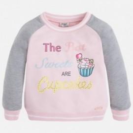 """Mayoral 3455-56 Bluza """"cupcake"""" kolor Kwarc"""