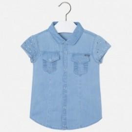 Mayoral 3179-15 Bluzka jeans ćwieki kolor Bleached