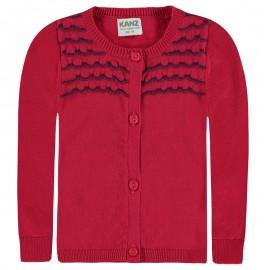Kenz sweter 1712057-2061 kolor koralowy