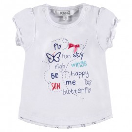Kenz bluzka 1712081-1000 kolor biały