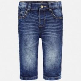 Mayoral 30-64 Spodnie jeans regular fit kolor Ciemny
