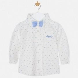 Mayoral 2102-77 koszula z muszką kolor Lawendowy