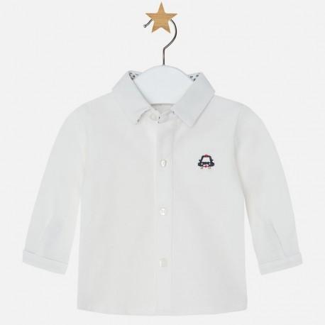 Mayoral 2104-29 Koszula d/r splot pika kolor Kremowy