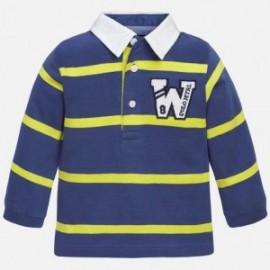 Mayoral 2126-40 Koszulka polo d/r w paski kolor Nieb jeans
