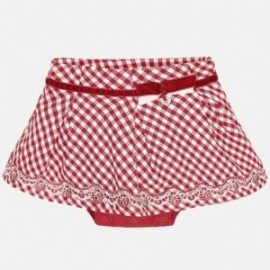 Mayoral 2914-27 Spódnica krata vichy kolor Czerwony