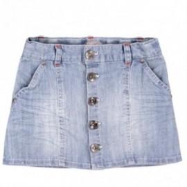 Boboli 453103-BLEACH Spódnica kolor jasny niebieski