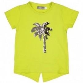 Boboli 473059-1095 T-shirt kolor cytrynowy
