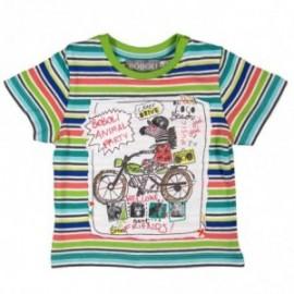 Boboli 343011-9477 T-shirt kolor kiwi