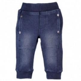 Boboli 393027-BLUE spodnie kolor NIEBIESKI