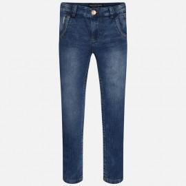 Mayoral 6509-50 Spodnie długie jeans kolor Ciemny