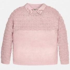 Mayoral 7308-83 Sweter trykot kolor Różowy