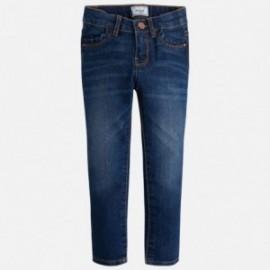 Mayoral 70-84 Spodnie rurki jeans basic kolor Ciemny