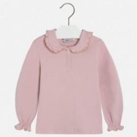 Mayoral 131-62 Koszulka polo dł.rękaw kolor Różowy