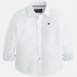 Mayoral 142-33 Koszula dł.ręk.oxford kolor Biały