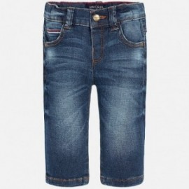Mayoral 510-64 Spodnie jeans slim fit basic kolor Ciemny