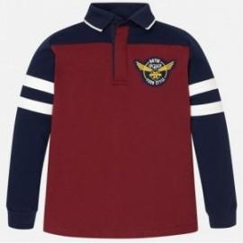 Mayoral 7112-44 Koszulka polo dł.rękaw kolor Burgund